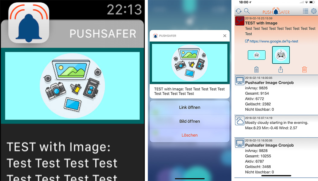 Pushsafer Image Creator Examples