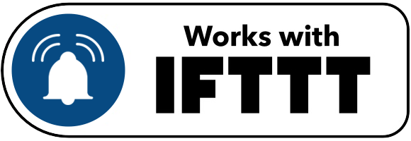 Pushsafer works with IFTTT
